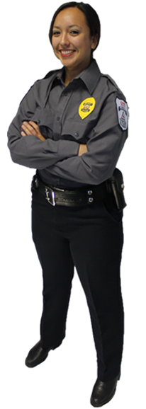 Female STT Security Officer 2015