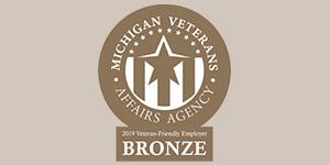 Michigan Veterans Affairs Agency Bronze Employer